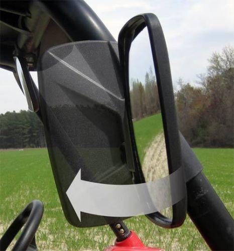 NEW  UTV Break-Away Side Mirror Set Qty-2 Shatter-Resistant FREE FAST  SHIP