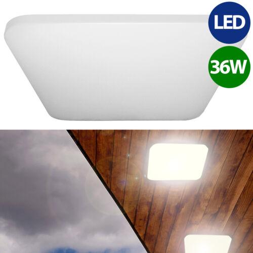 LED Decken-Leuchte 36W 43cm Büro Werkstatt Lampe warmweiß neutralweiß kaltweiß