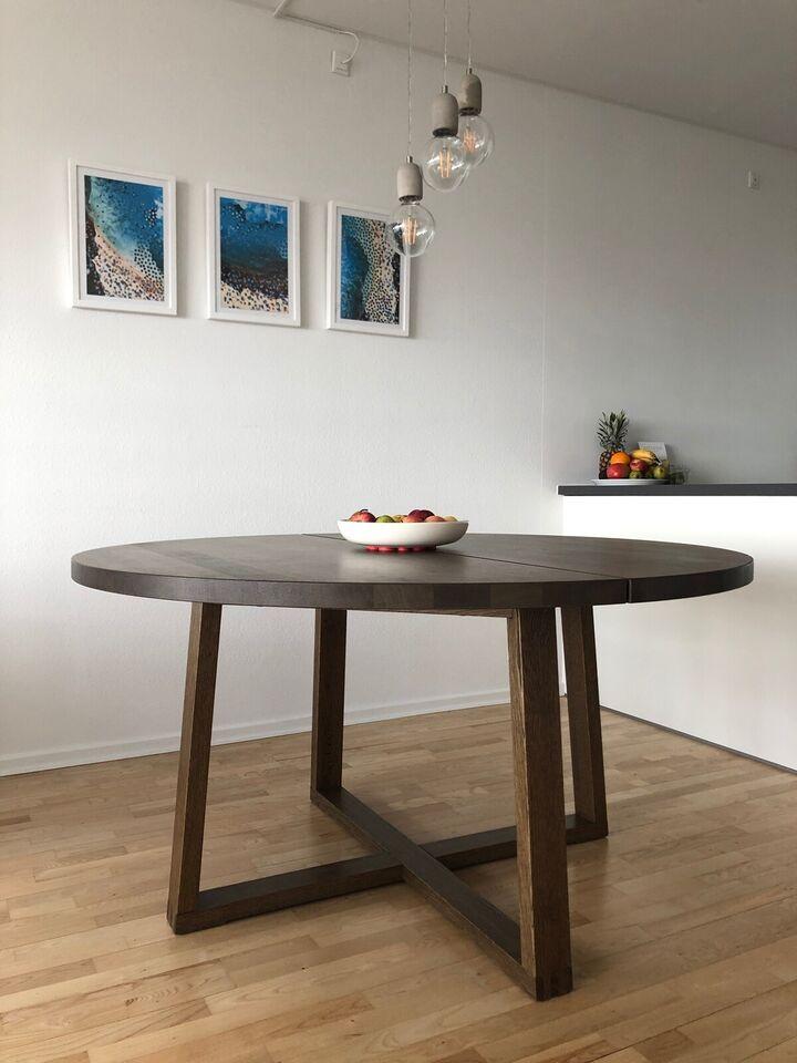 Spisebord m/stole, egetræsfiner, IKEA + Unoliving