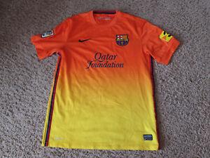 premium selection 5d0e1 086b6 NIKE DRI-FIT FUTBOL/SOCCER FC BARCELONA QATAR FOUNDATION ...