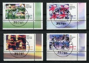 Bund-1968-1971-LUXUS-gestempelt-Eckrand-ETST-Weilburg-Vollstempel-BRD-1998