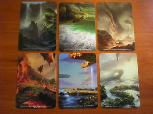 6 x CARD DIVIDERS From Battle for Zendikar Holiday Gift Box Nm mtg ...