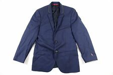 HUGO BOSS ARMION BLUE 38 REGUALR WOOL BLAZER SPORT COAT RUSTIN JACKET DEFECT