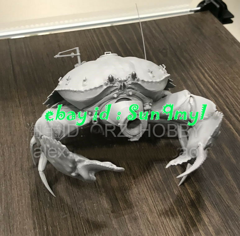 Model Kits Crab Tank Resin Sci-Fic GK Unpainted Unassembled