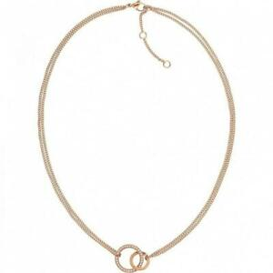 Tommy-Hilfiger-Ladies-Necklace-Fine-Core-Rose-Gold-Plated-2780078