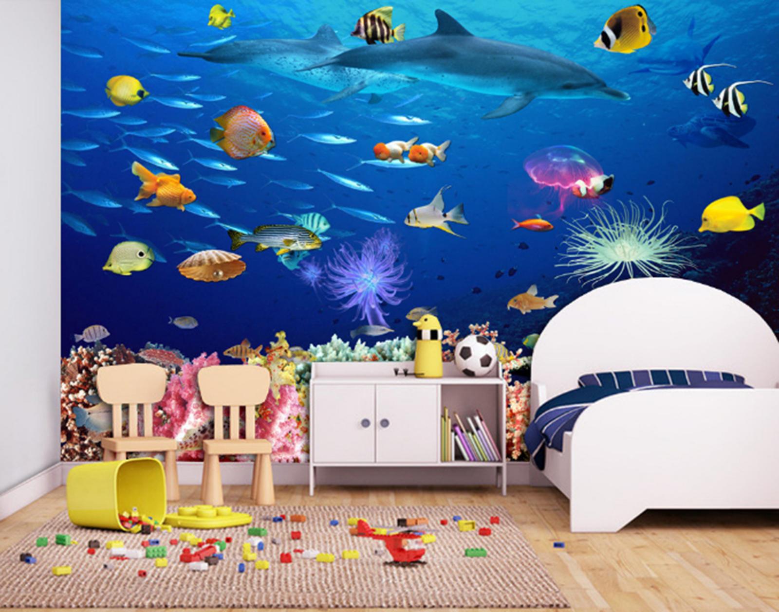 3D Ozean Tropischer Fisch Fisch Fisch 7988 Tapete Wandgemälde Tapeten Bild Familie DE Summer | Zürich Online Shop  78af83