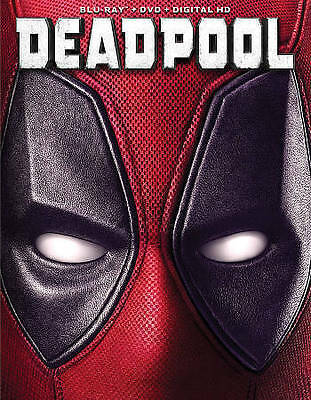 Deadpool (Blu-ray/DVD, 2016, 2-Disc Set, Includes Digital Copy) NEW