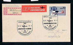 97412) Rda 25 Ans Du Trafic Aérien If, Sst 13.5.81, Lp-reco-brf N. Budapest Ef 70pf-afficher Le Titre D'origine