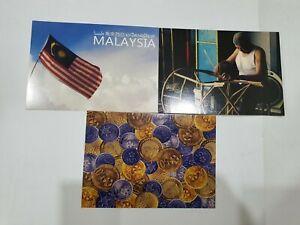 Malaysia-Postcard-Unused-3pcd