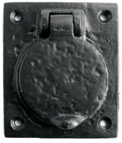 Black Antique Iron Cylinder Cover 78mm x 65mm JAB10