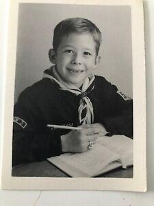 Vintage-Boy-Scout-School-photo-Scout-Ring-Book-Uniform-D3