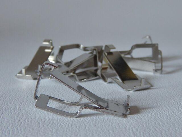 SWISS B CLIPS FRAMELESS PICTURE FRAME MOUNTS 10mm FIXING GLASS FRAMLESS CLIP