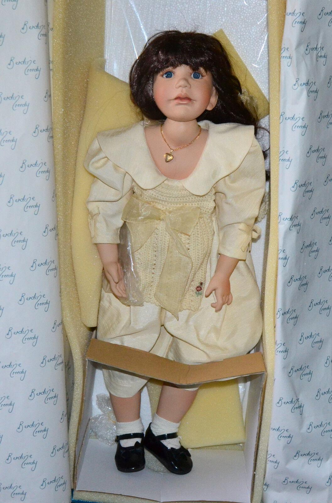 Berdine Creedy 28  Doll  Janina  Masterpiece Gallery 0435/1500 Limited in Box