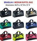 Nike Brasilia 6  Medium Duffel Gym Bag Grip BA4829/4909-***