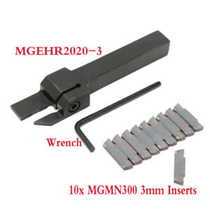 MGMN300-3mm-Inserts-Lathe-Grooving-Parting-Cutter-Tool-Holder-MGEHR2020-3
