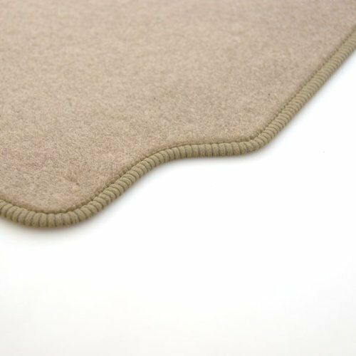 Perfect Fit Beige Car Floor Mats for Renault Megane Coupe with Heel Pad 2008/>