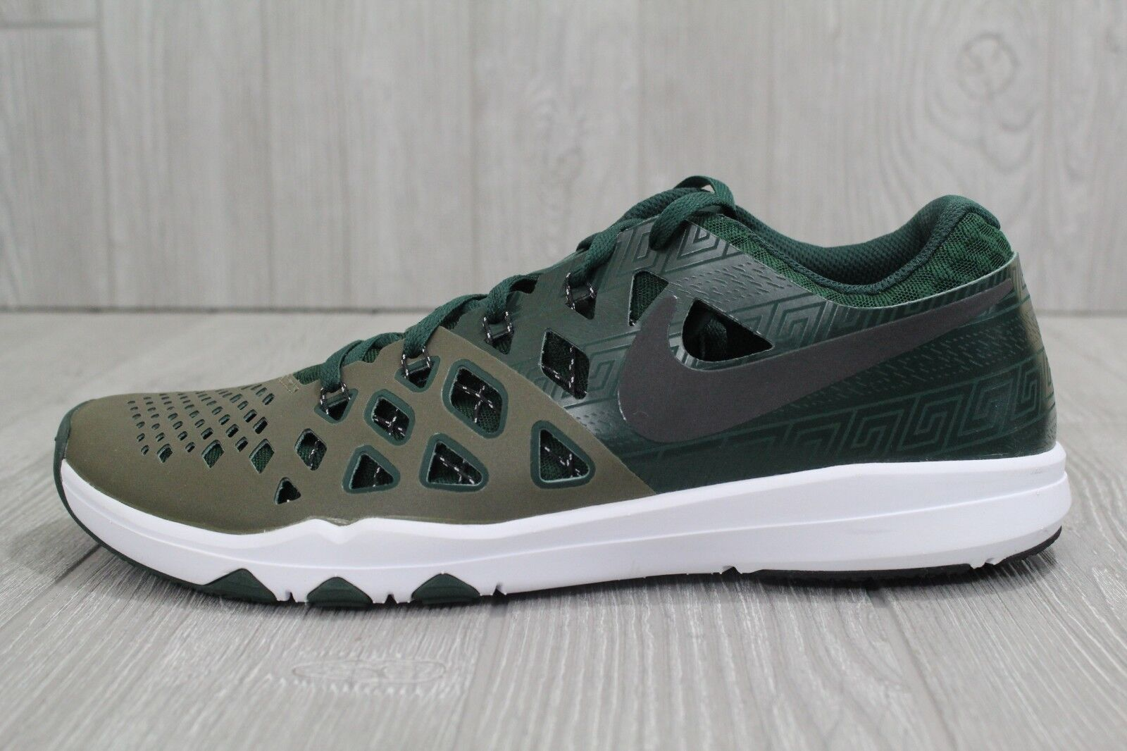 27 27 27 Nike Train Speed Amp 4 Michigan State Spartans Shoes 844102-309 Mens 10.5 11 2c7b27