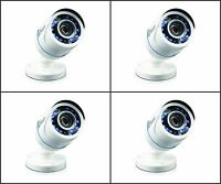 Swann Srpro-t850wb4-us Pro-t850 Hd 720p Analog Bullet Security Camera 4 Pack on sale