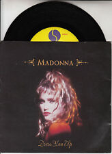 """MADONNA  Dress You Up PICTURE SLEEVE 7"""" 45 rpm record + juke box title strip"""