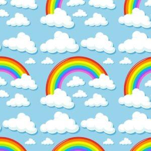 rainbow cloud photo backdrop baby photography prop cartoon