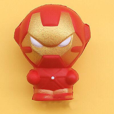Squishy Jouet Marvel Super Hero Deadpool Iron Man Cadeau Stress Soulager NEUF