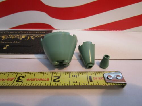 3 PIECE CONES FOR THE ROOF,SETS 4709 /& 4730 1 Details about  /Lego HARRY POTTER SAND GREEN