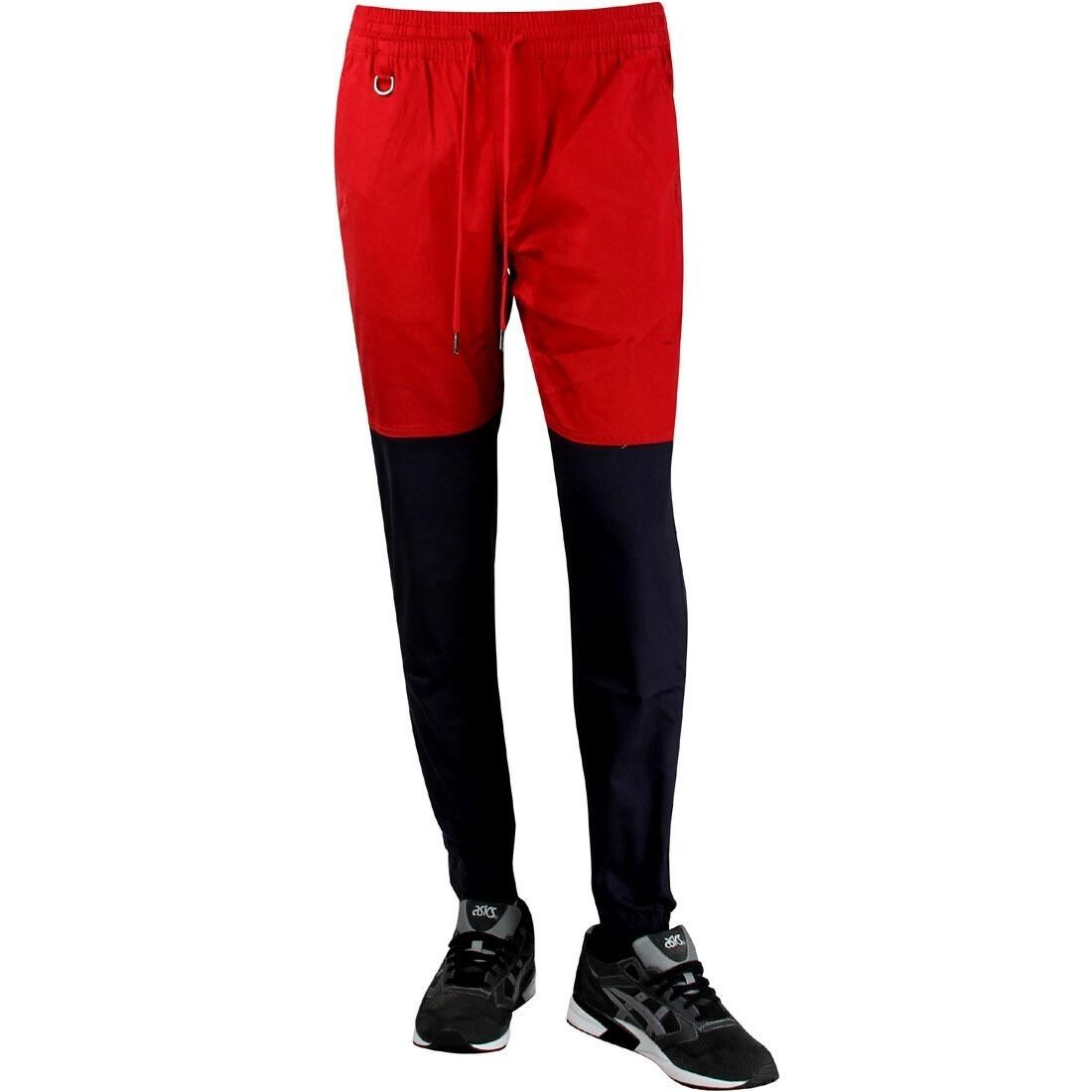Publish Two-Tone Jogger Pant red navy