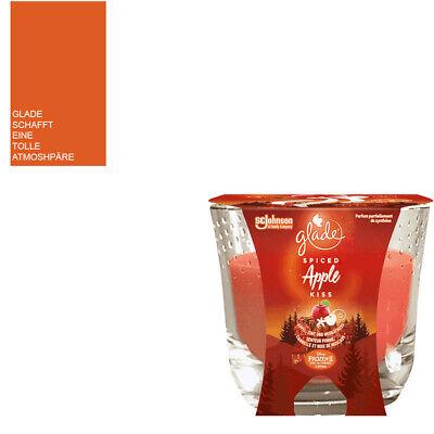 129g brenndauer bis zu 30 Stunden 33,14€//kg- 6x Glade Duftkerze Apple Kiss