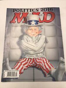 MAD #542  NOT Folded, EC Comics Magazine 2016 not folded Ungraded