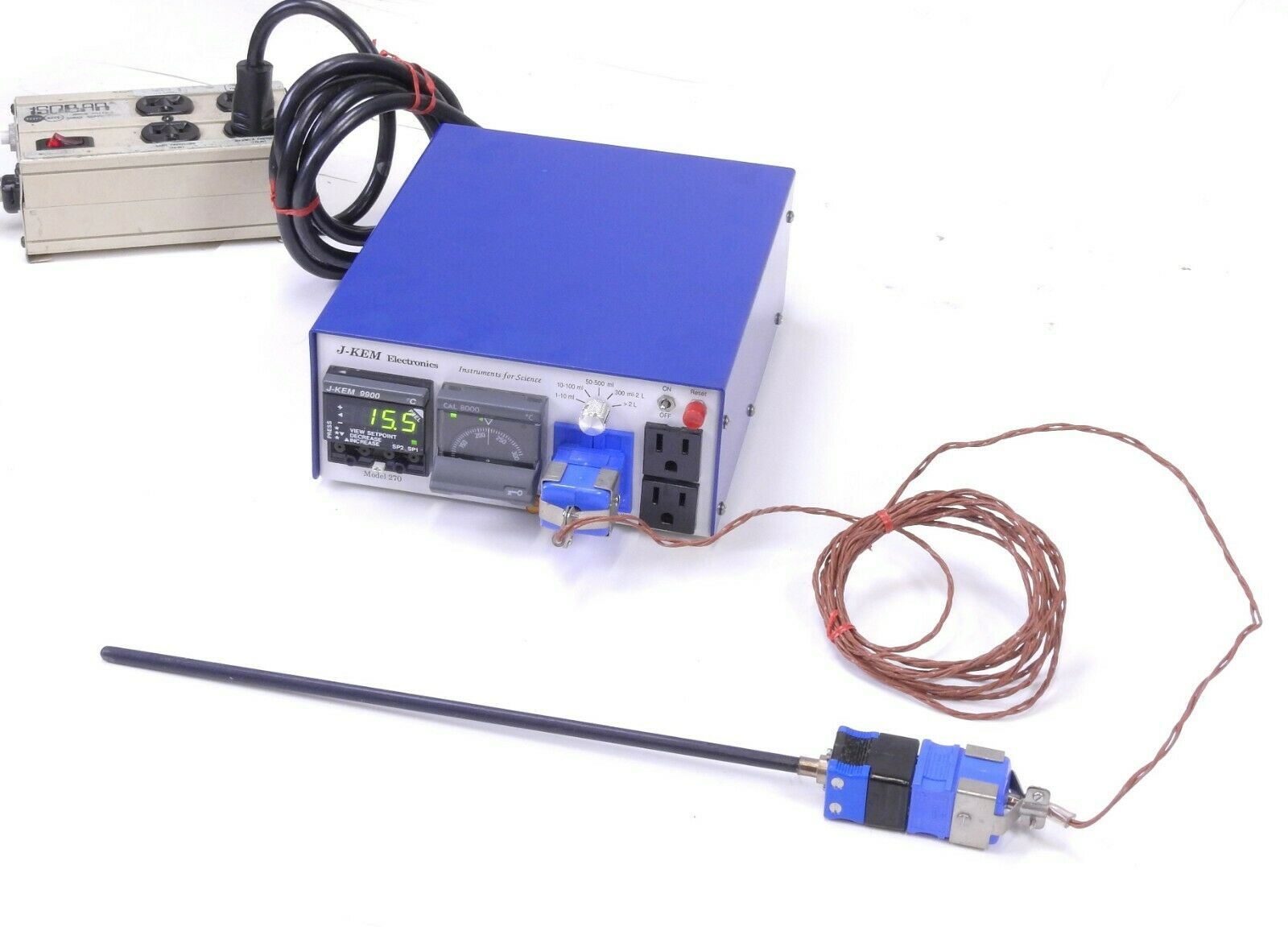 NDT Eddy Current Probe Tube Inspection 6100-1//8S Ideal Specialty With BNC Cable