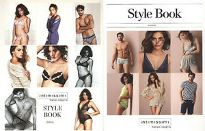 5d0b86a17 2 INTIMISSIMI STYLE BOOK lingerie knitwear catalog catalogo spring+summer  NEW - Italia - 2