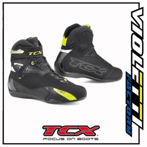 9505w Rush Wp Nero Giallo Fluo Impermeabili Moto Tcx Strada Nrlsjwur-07225643-243531577