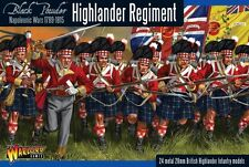 HIGHLANDER REGIMENT  - WARLORD - BLACK POWDER -