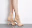 Fashion-Women-Stiletto-High-Heel-Ankle-Boots-Knit-Stretch-Peep-Toe-Shoes-Booties thumbnail 4