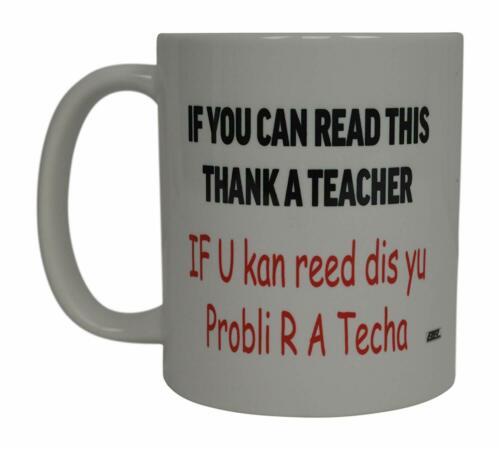 Funny Teacher Coffee Mug Sarcastic Novelty Cup Gift If Reading English Grammar