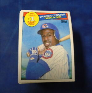 1985 TOPPS #280 SHAWON DUNSTON RC LOT OF 100 MINT B246532