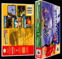 Pilotwings 64 - N64 Reproduction Art Case/box No Game.