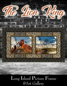 The Lion King Animation Sericel Gorgeous Newly Custom Framed FREE SHIPPING