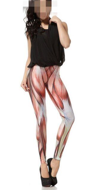 Women Punk Gothic S-M,L-XL YOGA GYM Leisure Dancer Stylish Galaxy Leggings Pants
