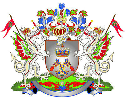 Baron O Baronessa Di Drachenfels Titoli Nobiliari Herzog Conteggio Contessa Finely Processed Antiques