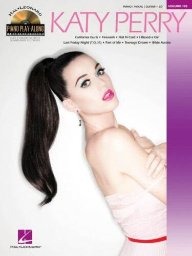Katy Perry Sheet Music Piano Play-Along Book and CD NEW 000109373