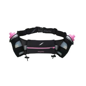 Fitletic-Hydration-Belt-16oz-Black-Pink-Large-X-Large
