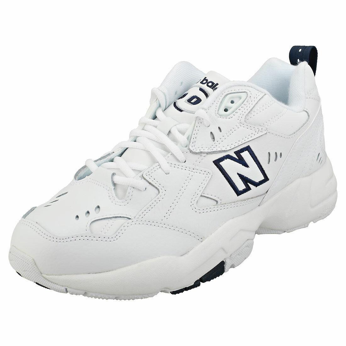 perdita controllore creativo  New Balance 608v1 Mens White Navy Casual Trainers - 10 UK for sale