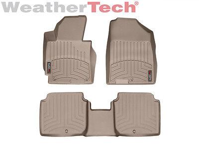 WeatherTech DigitalFit FloorLiner for Hyundai Elantra - 2011-2013 - Tan
