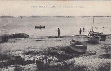 GOLFE-JUAN 1938 la plage et la rade écrite 1915