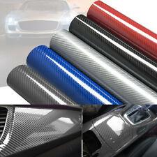 7d Car Interior Sticker Gloss Fiber Vinyl Laptop Car Parts Sticker Waterproof