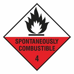 1 X Spontaneously Combustible Sticker Cxtoe5mo-07224155-242714388