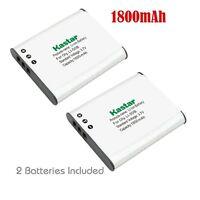 2x Kastar Battery For Olympus Li-50b Stylus 1010 1020 1030 9000 9010 Sp-800uz