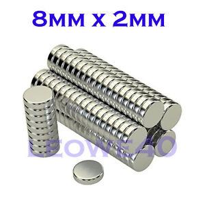 Forte-magnete-Rotondo-8mm-x-2mm-TERRE-RARE-NEODIMIO-761