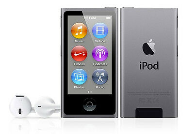 """Deal 11: New Imported Apple iPod Nano 16GB 2.5"""" 6th Generation Space Grey Color"""